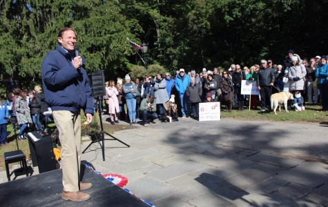 Darien Democrats Hold First-Ever Rally