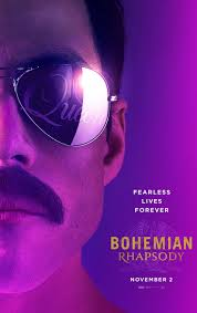 Official poster for Bohemian Rhapsody