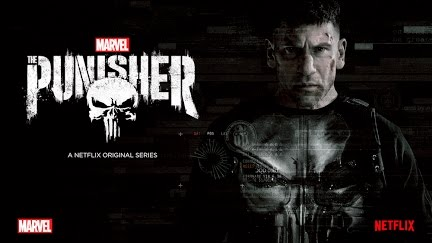 The Punisher title and logo