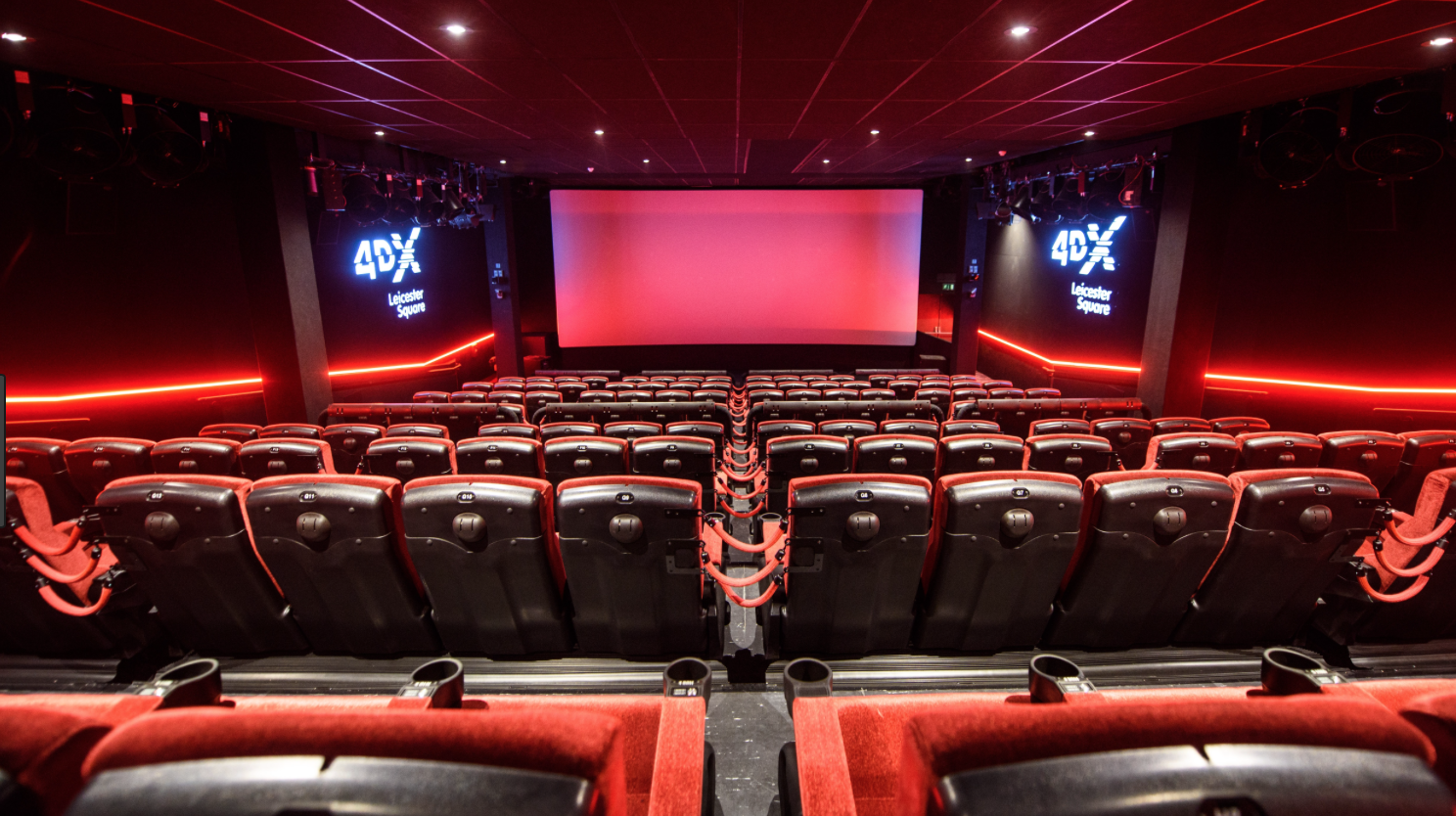 Inside Cineworlds' Leicester Square location