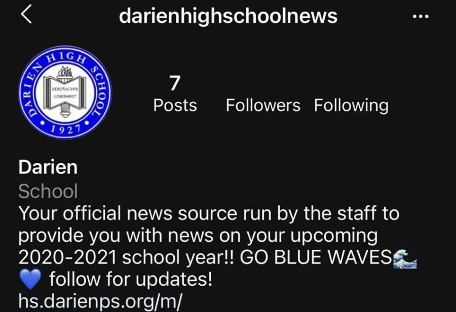 The Instagram account surfaced in the summer, claiming to be DHS administration.