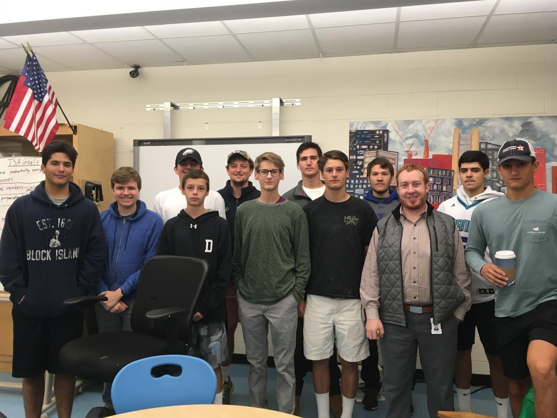 Last semester's fuel cell team