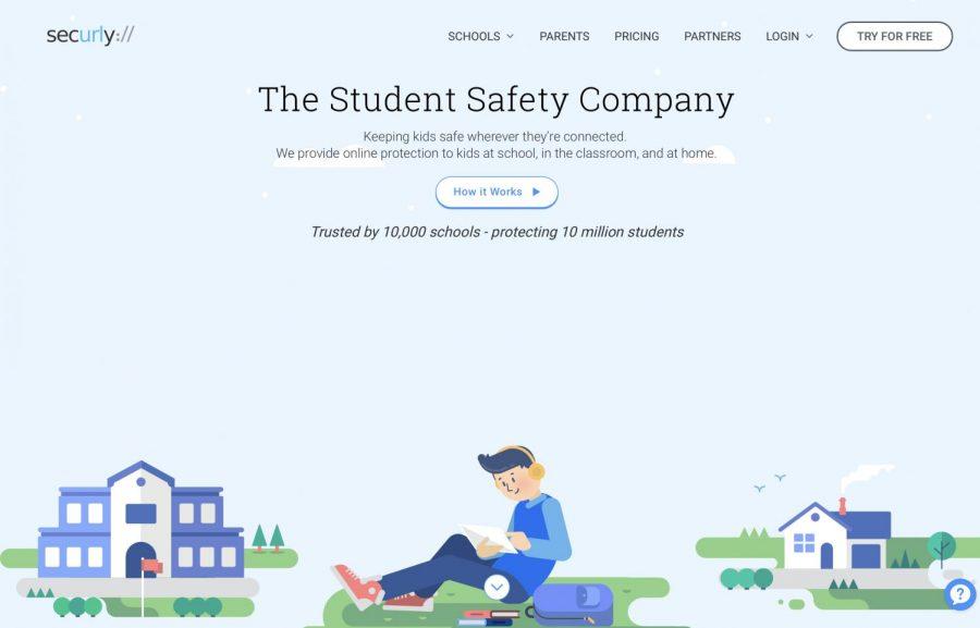 Securly+website+homepage