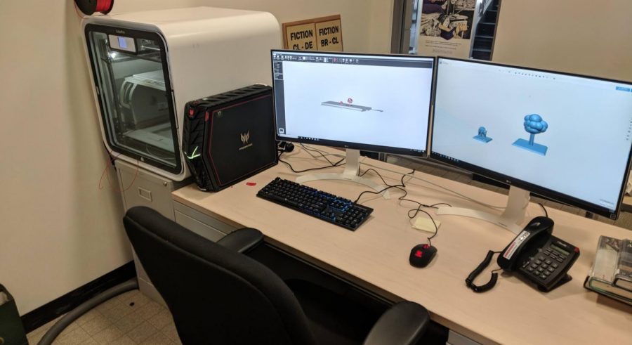 A New 3D Printer in the Library Media Lab