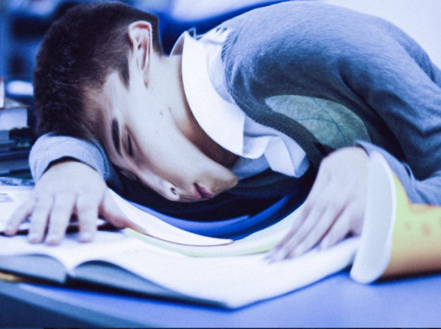 In a typical Blue Wave week, students feel the demands of school, sports, and social lives - that combination leads to extreme fatigue.