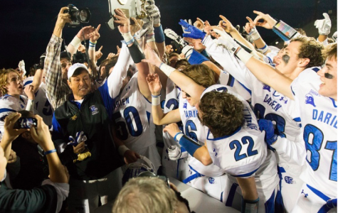 Celebratory moments like these have been a hallmark of Coach Trifone's career with Blue Wave Football.