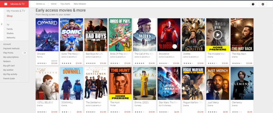 Google Play Movies has a new