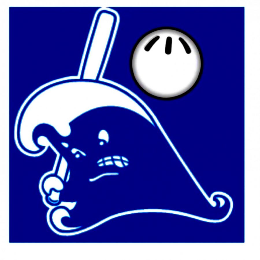 The Darien Wiffle Ball League's logo hints at the ferocity of the teams' competitive spirit.