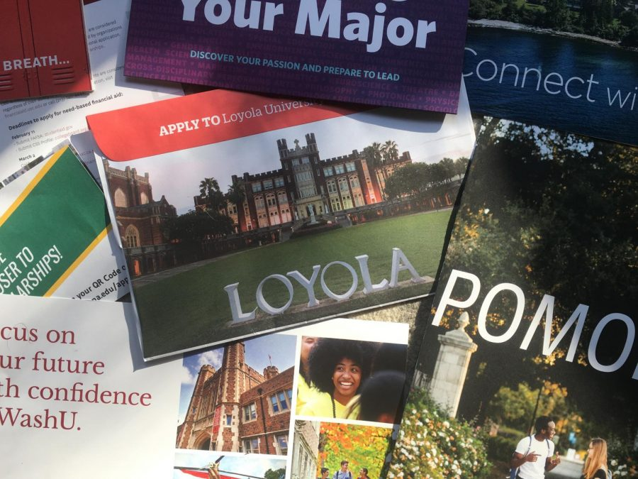 college mail